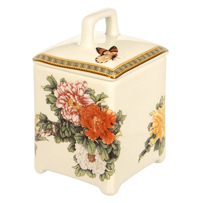 Банка для продуктов Imari Японский сад 13 см IM55060/3-1730ALIM55060/3-1730ALБанка Японский сад, выполненная из высококачественной керамики, станет незаменимым помощником на кухне. В ней будет удобно хранить разнообразные сыпучие продукты, такие как кофе, крупы, макароны или специи. Емкость легко закрывается крышкой. Оригинальный дизайн банки позволит украсить любую кухню, внеся разнообразие, как в строгий классический стиль, так и в современный кухонный интерьер.