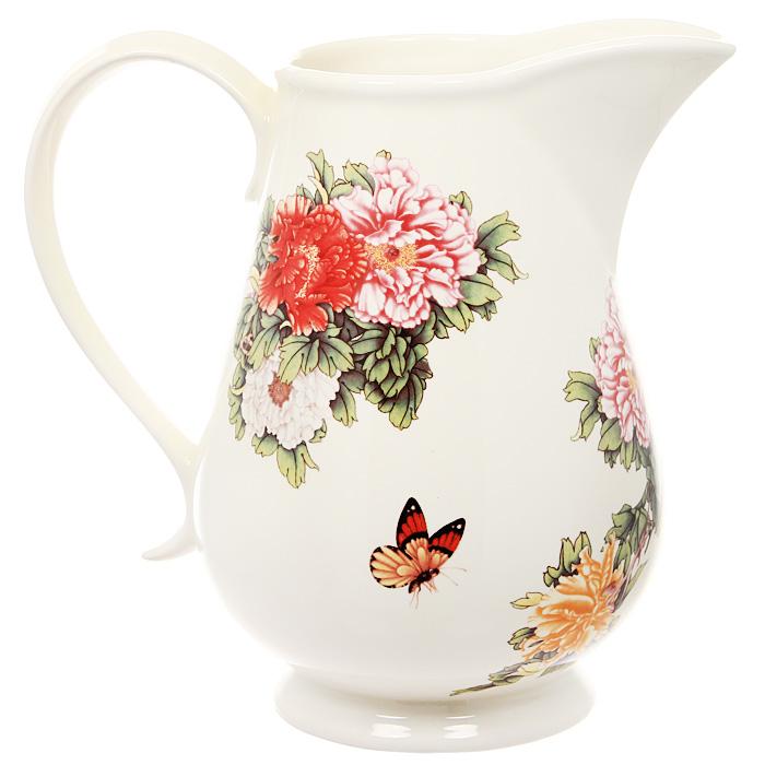 Кувшин Японский сад, 1 лIM15020-1730ALКувшин Японский сад изготовлен из высококачественной керамики и декорирован очаровательным рисунком. В нем будет удобно хранить молоко, соки или воду. Оригинальный дизайн кувшина позволит украсить любую кухню, внеся разнообразие, как в строгий классический стиль, так и в современный кухонный интерьер. Характеристики: Материал: керамика. Высота кувшина: 17 см. Объем: 1 л. Размер упаковки: 17,5 см х 13 см х 19,5 см. Производитель: Китай. Артикул: IM15020-1730AL. Изделия торговой марки Imari произведены из высококачественной керамики, основным ингредиентом которой является твердый доломит, поэтому все керамические изделия Imari - легкие, белоснежные, прочные и устойчивы к высоким температурам. Высокое качество изделий достигается не только благодаря использованию особого сырья и новейших технологий и оборудования при изготовлении посуды, но также благодаря строгому контролю на всех этапах производственного процесса. Нанесение...