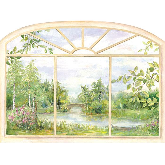 """Украшение для стен и предметов интерьера """"Окно. Лето"""", Decoretto"""