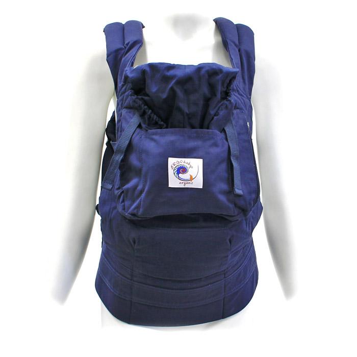 "Рюкзак-переноска ""ERGO Baby Carrier: Organic"", цвет: темно-синий"