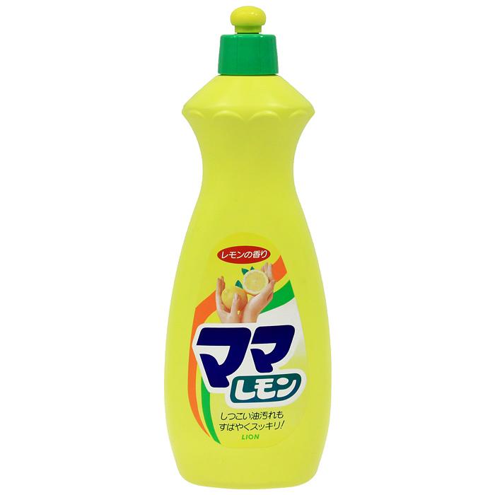 Средство для мытья посуды Lion Mama Lemon, лимон, 800 мл073093Средство Mama Lemon предназначено для мытья посуды, кухонной утвари, дезинфекции губок, а также для мытья овощей и фруктов. Густая пена великолепно справляется с жиром даже в холодной воде. Моющее средство оказывает антибактериальное действие и удаляет неприятные запахи. Обладает освежающим ароматом лимона. Благодаря содержанию моющих компонентов растительного происхождения, средство мягко воздействует на кожу рук, не сушит ее и не вызывает раздражения.