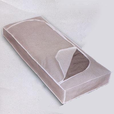 "Футляр для хранения  ""Polly "", цвет: белый, 120 см х 50 см х 15 см Metaltex."