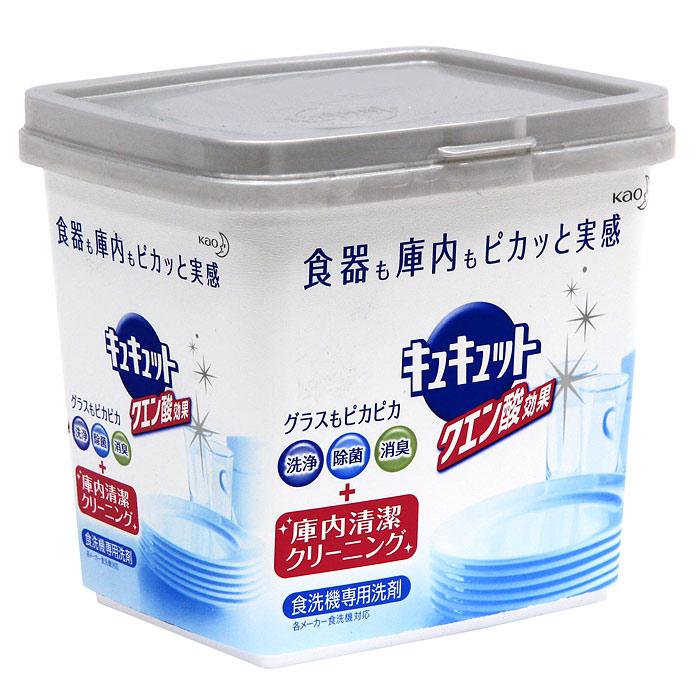 Порошок для посудомоечной машины KAO  Citric Acid Effect , аромат грейпфрута, 680 г25982Порошок для посудомоечной машины с легким ароматом грепфрута. Новая формула порошка снимает грязь не только с посуды, а также заботится о чистоте посудомоечной машины. Компоненты тщательно обволакивают каждую частицу грязи и не дают ей прилипнуть к стенкам машины. Двойная сила частиц кислорода и лимонной кислоты в составе также легко удаляет подгары, снимает тусклость со стеклянных стаканов, которые было сложно смыть обычными моющими средствами. Порошок укомплектован мерной ложечкой. Нельзя использовать на лакированной, серебряной, алюминиевой посудах, на хрустале, на посуде с позолотой или с серебряным покрытием. Характеристики: Вес: 680 г. Производитель: Япония. Артикул: 25982. Японская компания KAO занимается разработкой и производством продукции для повседневной жизни, а также товаров промышленного назначения. Особое внимание компания уделяет разработке новых товаров. По многим позициям компания занимает лидирующее место в Японии.