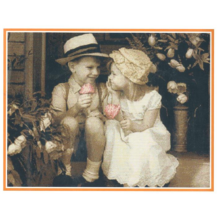 Набор для вышивания крестом Маленькое счастье, 60 х 48 смRY- 1783-14В наборе для вышивания крестом Маленькое счастье есть все необходимое для создания собственного чуда: канва, специальные нити, схема рисунка, две иглы и инструкция. Красивый и стильный рисунок-вышивка, выполненный на канве, выглядит оригинально и всегда модно. Вышивание крестиком отвлечет вас от повседневных забот, и превратится в увлекательное занятие! Работа, сделанная своими руками, создаст особый уют и атмосферу в доме и долгие годы будет радовать вас и ваших близких.