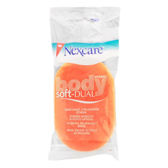 Губка для тела Nexcare, мягкая, массажнаяRN000933176Мягкая массажная губка для тела Nexcare обладает двойным действием. Ухаживает за чувствительными участками кожи мягкой поролоновой стороной, а нежный массажный слой очищает и обновляет кожу. Деликатно отшелушивает отмершие клетки кожи. Способствует лучшему впитыванию кремов, антицеллюлитных средств. Характеристики: Размер губки: 9 см х 13 см х 3 см. Материал: синтетическое волокно. Производитель: Испания. Артикул: NBC23DUO. Товар сертифицирован.