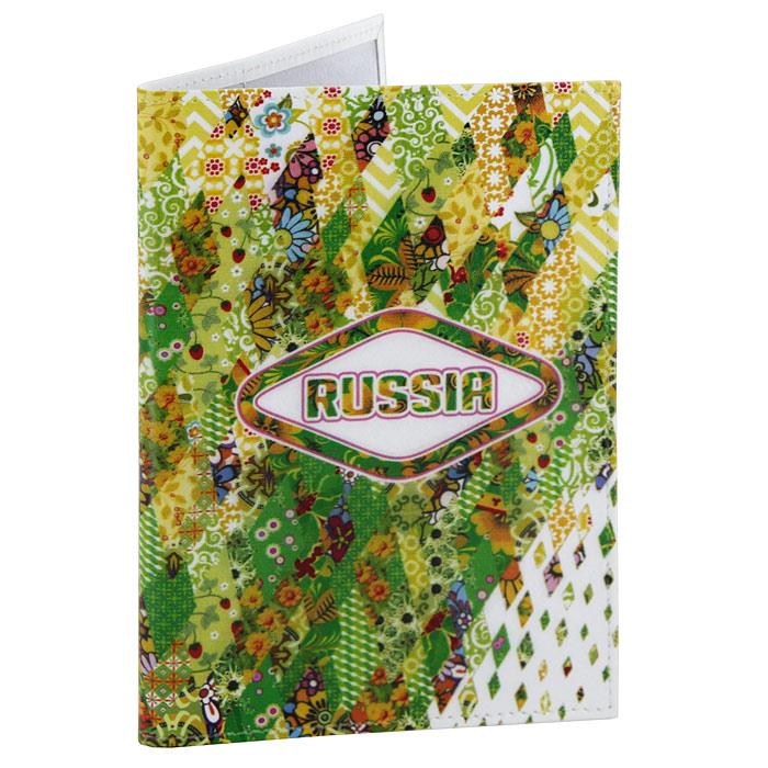Обложка для паспорта Perfecto Russia-Green. PS-GL-0024PS-GL-0024Обложка для паспорта Russia-Green, выполненная из натуральной кожи, оформлена ярким орнаментом. Такая обложка не только поможет сохранить внешний вид ваших документов и защитит их от повреждений, но и станет стильным аксессуаром, идеально подходящим вашему образу. Яркая и оригинальная обложка подчеркнет вашу индивидуальность и изысканный вкус. Обложка для паспорта стильного дизайна может быть достойным и оригинальным подарком. Характеристики: Материал: натуральная кожа, пластик. Размер (в сложенном виде): 9,5 см x 13,5 см. Производитель: Россия. Артикул: PS-GL-0024.