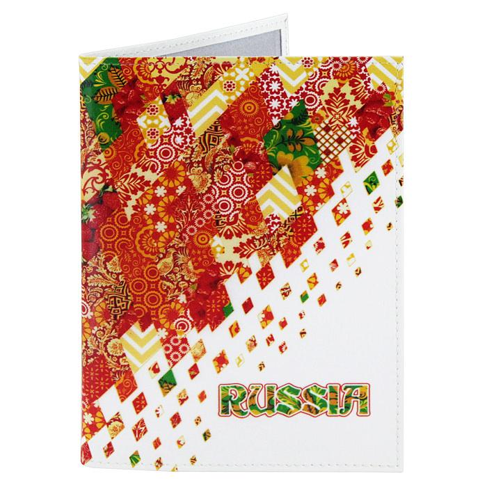 Обложка для паспорта Perfecto Russia-Red. PS-GL-0021PS-GL-0021Обложка для паспорта Russia-Red, выполненная из натуральной кожи, оформлена ярким орнаментом. Такая обложка не только поможет сохранить внешний вид ваших документов и защитит их от повреждений, но и станет стильным аксессуаром, идеально подходящим вашему образу. Яркая и оригинальная обложка подчеркнет вашу индивидуальность и изысканный вкус. Обложка для паспорта стильного дизайна может быть достойным и оригинальным подарком. Характеристики: Материал: натуральная кожа, пластик. Размер (в сложенном виде): 9,5 см x 13,5 см. Производитель: Россия. Артикул: PS-GL-0021.