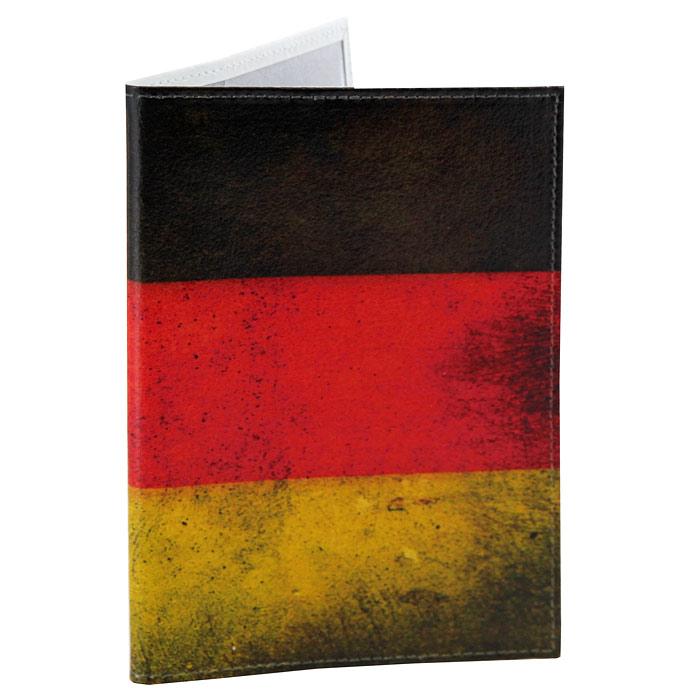 Обложка для паспорта Perfecto Germany. PS-PR-0053PS-PR-0053Обложка для паспорта Germany, выполненная из натуральной кожи, оформлена изображением флага Германии. Такая обложка не только поможет сохранить внешний вид ваших документов и защитит их от повреждений, но и станет стильным аксессуаром, идеально подходящим вашему образу. Яркая и оригинальная обложка подчеркнет вашу индивидуальность и изысканный вкус. Обложка для паспорта стильного дизайна может быть достойным и оригинальным подарком.