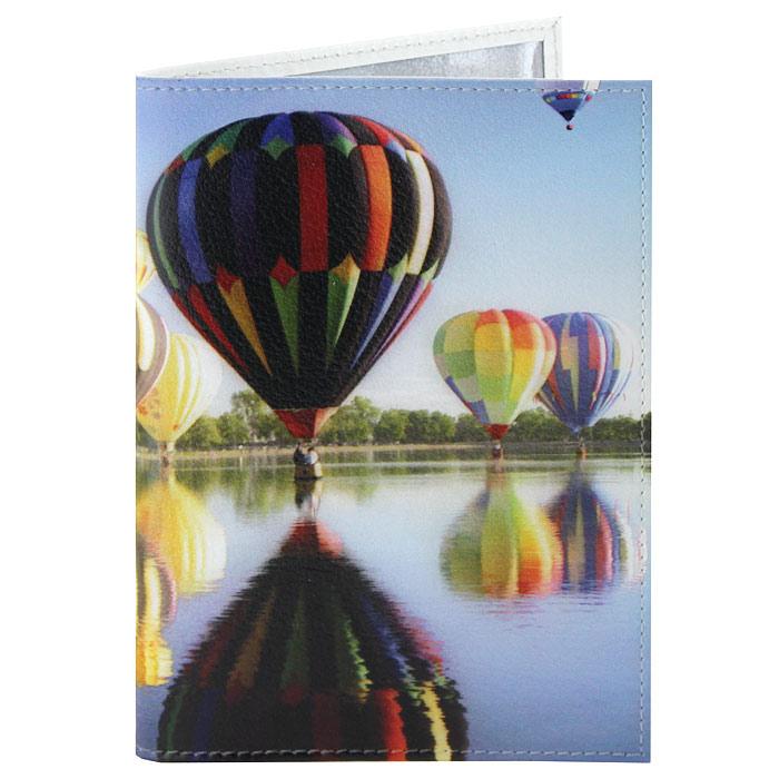 Обложка для паспорта Perfecto Воздушные шары. PS-PR-0037PS-PR-0037Обложка для паспорта Воздушные шары, выполненная из натуральной кожи, оформлена изображением красочных воздушных шаров над водой. Такая обложка не только поможет сохранить внешний вид ваших документов и защитит их от повреждений, но и станет стильным аксессуаром, идеально подходящим вашему образу. Яркая и оригинальная обложка подчеркнет вашу индивидуальность и изысканный вкус. Обложка для паспорта стильного дизайна может быть достойным и оригинальным подарком.