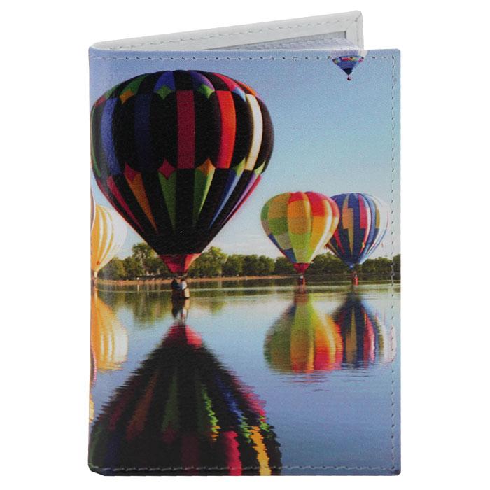 Визитница Perfecto Воздушные шары. VZ-PR-37VZ-PR-37Компактная визитница Воздушные шары - стильная вещь для хранения визиток. Обложка визитницы выполнена из натуральной кожи и оформлена ярким рисунком. Визитница предназначена для хранения 18 визиток.