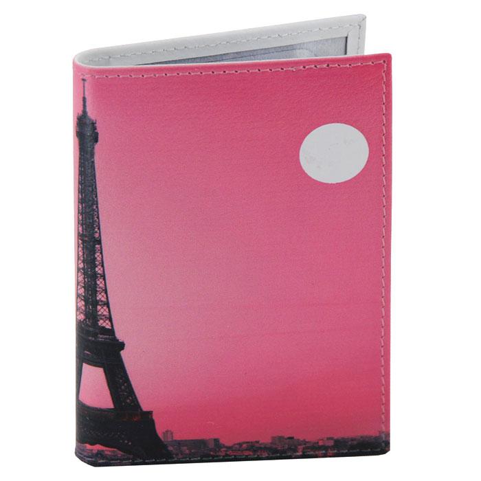 Визитница Perfecto Вечерний Париж, цвет: розовый. VZ-PR-0036VZ-PR-0036Компактная визитница Вечерний Париж - стильная вещь для хранения визиток. Обложка визитницы выполнена из натуральной кожи и оформлена изображением Эйфелевой башни. Визитница предназначена для хранения 18 визиток. Характеристики: Материал: натуральная кожа, пластик. Размер визитницы: 7 см x 10,5 см. Производитель: Россия. Артикул: VZ-PR-0036.