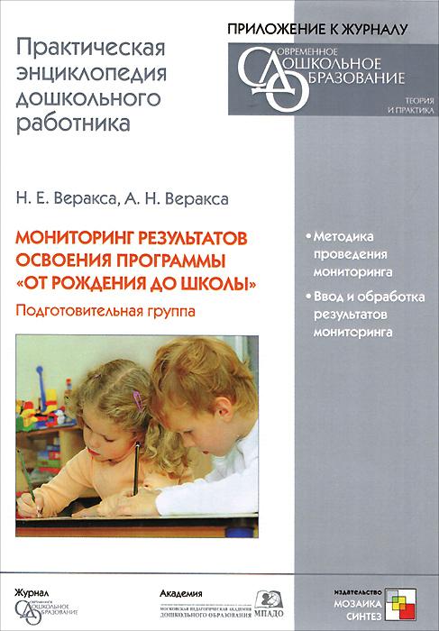 Мониторинг результатов освоения программы От рождения до школы. Подготовительная группа