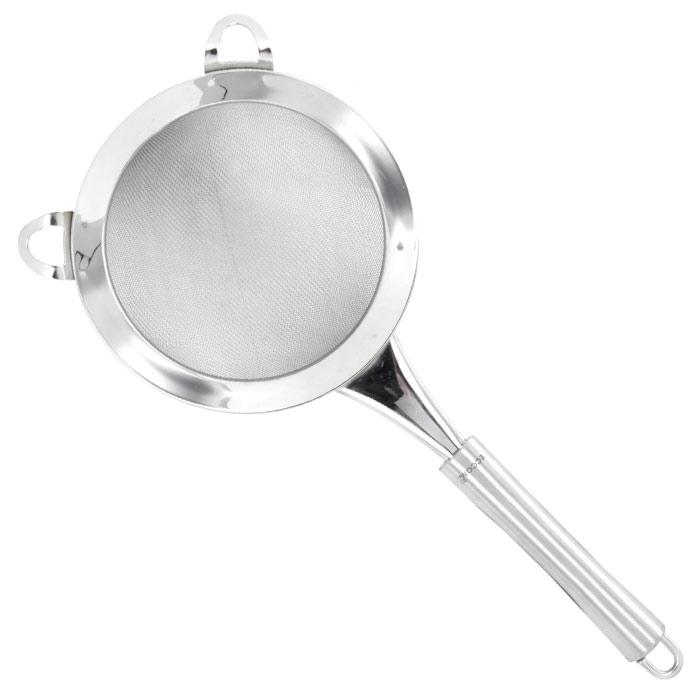 Сито Croff, диаметр 14 см8027-GPСито Croff, выполненное из высококачественной нержавеющей стали, обладает исключительным качеством и займет достойное место среди аксессуаров на вашей кухне. Оно предназначено для просеивания и процеживания. Специальные ушки позволяют установить сито на кастрюлю или другую емкость. Эргономичная ручка не позволит изделию выскользнуть из вашей руки. Также есть небольшая петля, с помощью которой вы можете подвесить изделие у себя на кухне в удобном месте. Сито Croff предоставит вам все необходимые возможности в успешном приготовлении пищи.