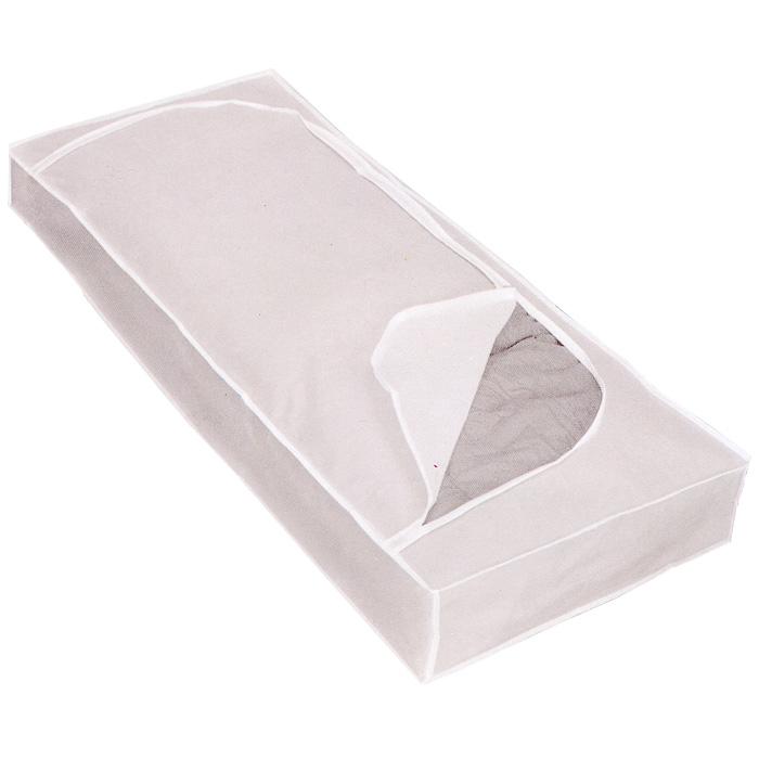 Футляр для хранения Polly, цвет: белый, 120 см х 50 см х 15 см75.10.52Удобный футляр для хранения Polly прямоугольной формы выполнен из прочного и водонепроницаемого нетканого материала. Он закрывается клапаном на застежку-молнию. Такой футляр отлично защитит ваши вещи от загрязнений, пыли, влаги и поможет надолго сохранить их безупречный вид во время хранения и транспортировки. Характеристики: Материал: PEVA. Размер: 120 см х 50 см х 15 см. Производитель: Италия. Изготовитель: Китай. Артикул: 75.10.52.