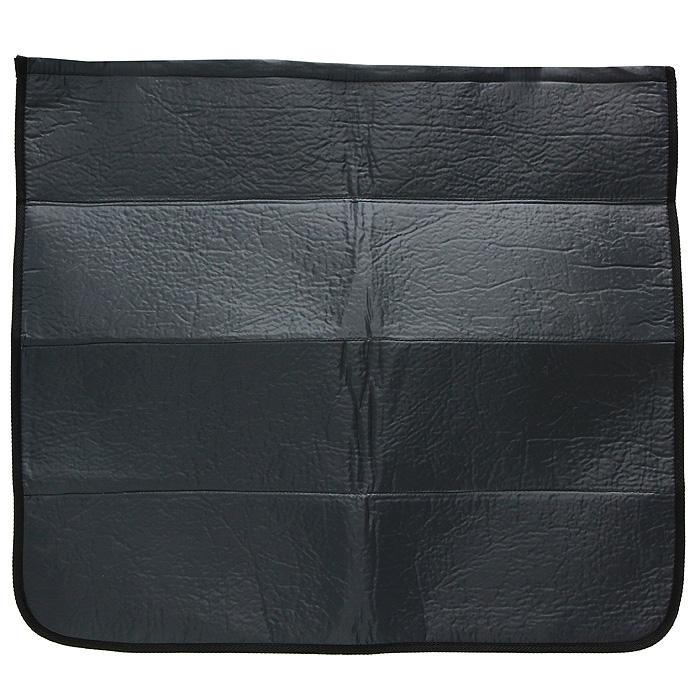 Накидка на бампер Comfort Adress, цвет: черный, 75 см х 65 смdaf 007Накидка на бампер Comfort Adress создана защищать одежду от грязи, а бампер от царапин. Не испачкать брюки о грязный бампер, комфортно доставать сумки из багажника - желание каждого водителя. А царапины, оставленные на бампере большими чемоданами отпускников - ведь это влияет на стоимость вашего автомобиля. Накидка, выполненная из плотной ткани, крепится к полу багажника на липучке. Складывается накидка - грязь к грязи, не пачкая руки. В сложенном виде она очень компактна и занимает всего 10 см. Легко стирается.