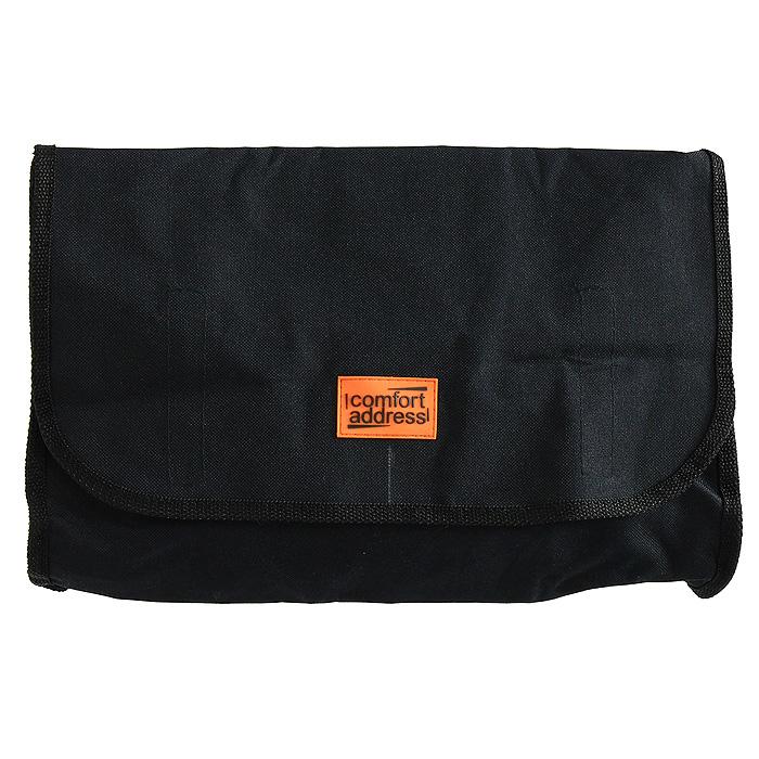 "Сумка ""Mesto"", цвет: черный, 25 х 10 х 25 см. ( bag 011 )"