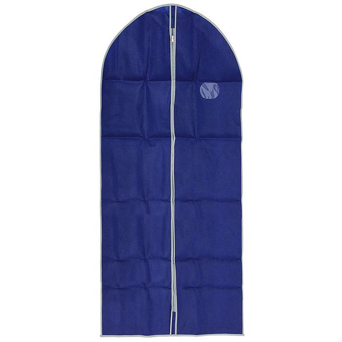 Футляр для хранения одежды Airy, цвет: синий, 60 х 135 см75.04.06Удобный футляр для одежды Airy на молнии, выполненный из прочного материала, защитит ваши вещи от загрязнений, пыли, влаги и поможет надолго сохранить их безупречный вид во время хранения и транспортировки. Футляр снабжен прозрачным окошком, которое позволит вам видеть какая одежда находится внутри.