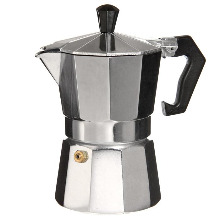Кофеварка-эспрессо Top Style, на 9 чашек1900-CPГейзерная кофеварка-эспрессо Top Style позволит вам приготовить ароматный напиток на 9 персон. Принцип работы такой гейзерной кофеварки - кофе заваривается путем многократного прохождения горячей воды или пара через слой молотого кофе. Корпус кофеварки изготовлен из высококачественного алюминия, а удобная ручка из прочного пластика. Кофеварка состоит из двух соединенных между собой емкостей. В нижнюю емкость наливается вода, в эту же емкость устанавливается фильтр, в который засыпается кофе. К нижней емкости прикручивается верхняя емкость, после чего кофеварка ставится на газовую или электрическую плиту, и через несколько минут кофе начинает брызгать в верхний контейнер и осаждаться. Кофе получается крепкий и насыщенный.