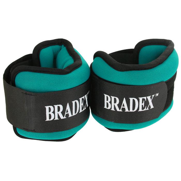 "Bradex Утяжелители ""Bradex"", 2х1 кг"