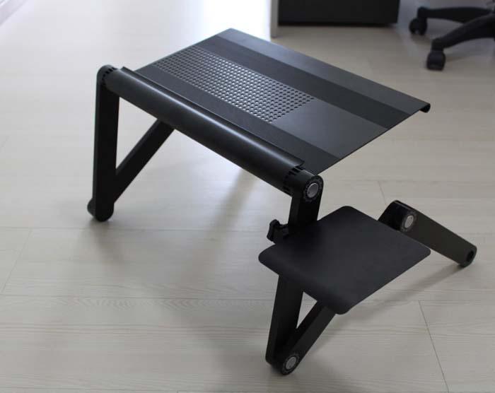 Площадка под компьютерную мышь для столиков ASX, цвет: черныйCD120753Площадка для столиков ASX может быть использована для мышки, для напитков, для сэндвичей и так далее. Она легко крепится и фиксируется на ножке столика, на любой удобной для вас высоте и идеально подходит как для правшей, так и для левшей.