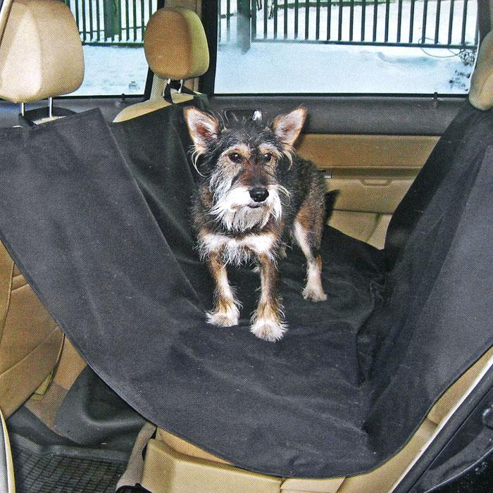 Накидка для перевозки собак Comfort Adress, цвет: черный, 150 см х 150 см