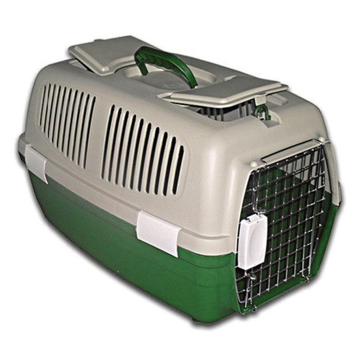 Переноска пластиковая Triol с замком, цвет: зеленый, 62 см х 34 см х 36 смFS-03Пластиковая переноска Triol предназначена для перевозки животных на небольшие и дальние расстояния. На верхней части переноски есть небольшой люк с отверстием и место для хранения документов и других необходимых вещей. Также переноска имеет специальные боковые отверстия, чтобы ваш любимец мог дышать. Переноска закрывается на металлическую дверцу-решетку с удобным пластиковым замком. Для удобного использования у переноски имеется пластиковая ручка. В комплект входят: металлическая дверца-решетка с замком, 5 зажимов-фиксаторов, верхняя и нижняя части переноски.Характеристики: Материал: пластик, металл. Размер: 62 см х 34 см х 36 см. Производитель: Китай. Артикул: FS-03.