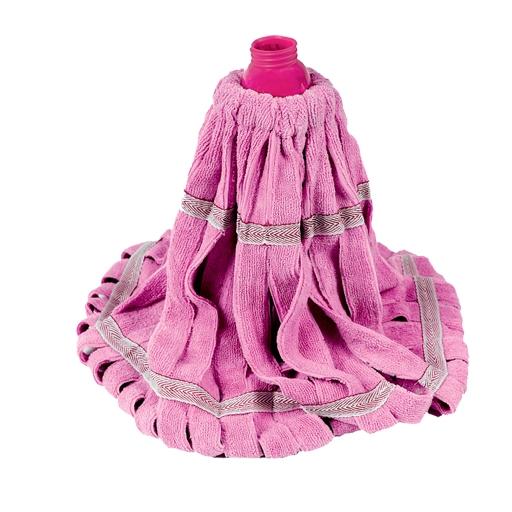 """Насадка для швабры Twist Mop """"Loks Super Cleaning"""", сменная, цвет: розовый"""
