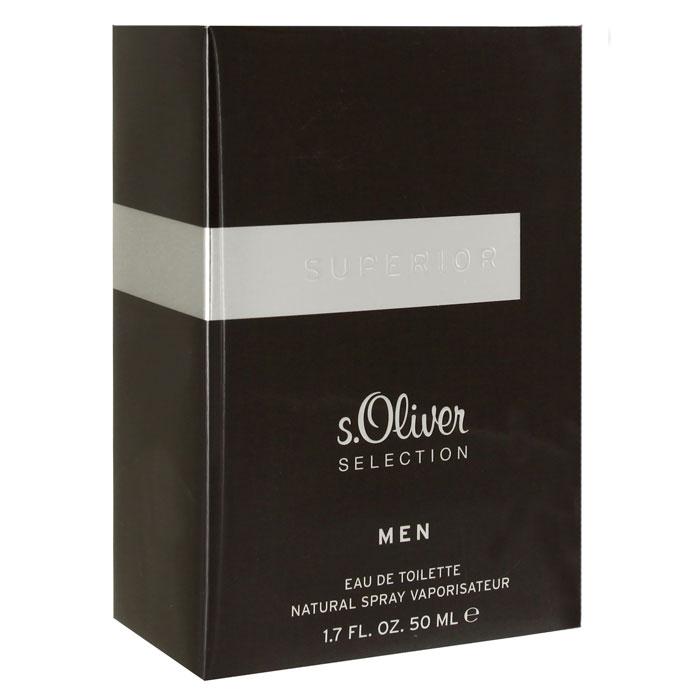 """S. Oliver """"Superior Men"""". Туалетная вода, 50 мл"""