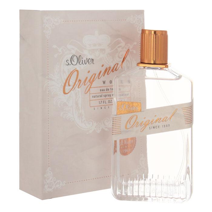 "S.Oliver ""Original Woman"". Туалетная вода, 50 мл 4011700820078"