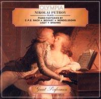 Nikolai Petrov Plays Piano Fantasies by. C.P.E.Bach. Mozart. Mendelssohn. List. Brahms