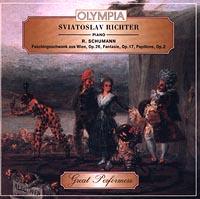 Sviatoslav Richter, piano. R.Schumann. Faschigsschwank aus Wien, Op.26, Fantasie, Op.17, Papillons, Op.2 Audio CD