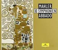 Claudio Abbado. Mahler: 10 Symphonien 1995 12 Audio CD