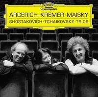 Martha Argerich - piano. Gidon Kremer - violin. Mischa Maisky - cello.
