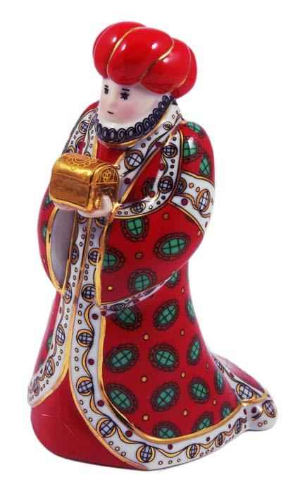 Статуэтка Бальтазар. Фарфор, роспись, золочение. Фаберже, 90-е гг. ХХ века