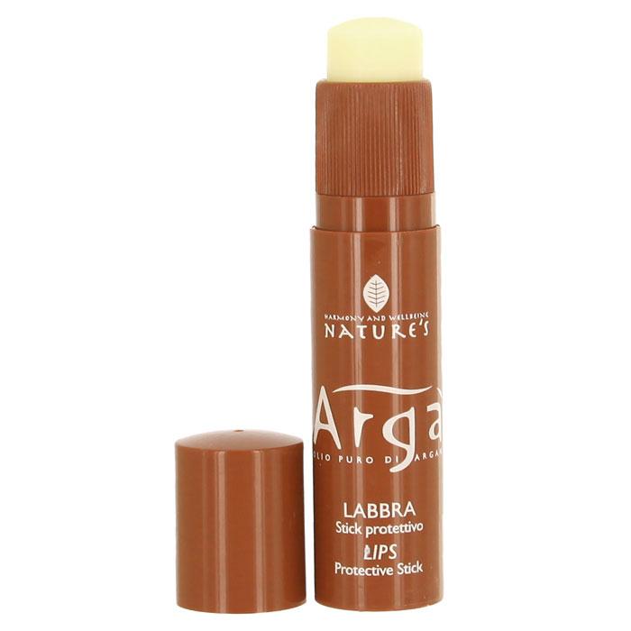 Бальзам-стик для губ Natures Arga, защитный, 5,7 мл60150402Защитный бальзам-стик для губ Natures Arga идеальное средство для защиты губ чувствительных к холоду и другим атмосферным явлениям. Смягчает, питает, увлажняет, предупреждает пересыхание, создает защитный барьер против внешних раздражителей.