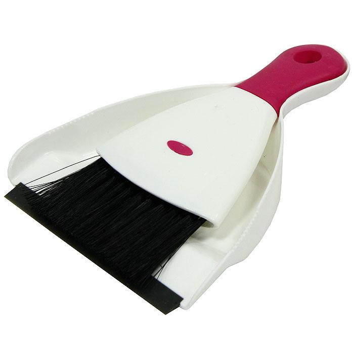 Набор Loks Super Cleaning: щетка, совок, цвет: белый, розовыйL30-0115-11Набор Loks Super Cleaning включает щетку с синтетическим ворсом и нескользящей резиновой рукояткой и совок, изготовленный из высококачественного пластика с резиновым уплотнителем. Набор Loks Super Cleaning идеально подходит для уборки мелкого мусора с кухонных поверхностей. С набором Loks Super Cleaning уборка займет гораздо меньше времени и сил!