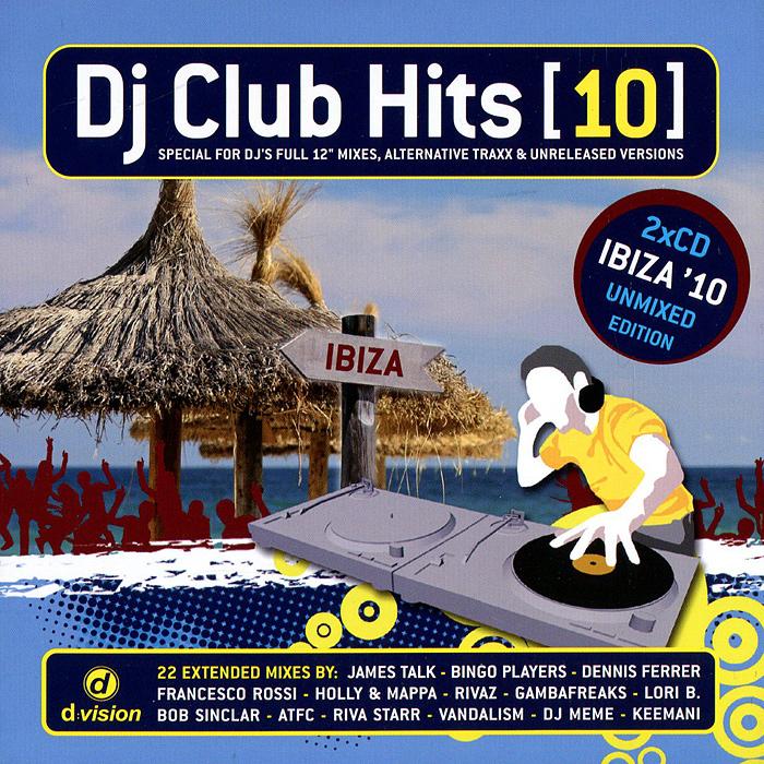 DJ Club.Hits (10) (2 CD) 2012 2 Audio CD