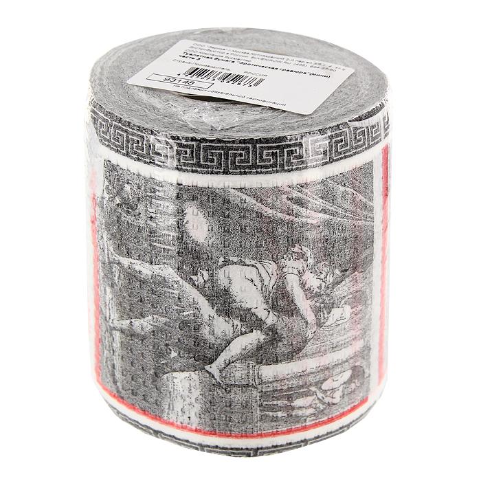 Туалетная бумага Эротическая гравюра. 9314893148Качественная двухслойная туалетная бумага Эротическая гравюра - оригинальный сувенир для людей, ценящих чувство юмора. Бумага оформлена изображением любовных сцен. Рулон упакован в прозрачную пленку.