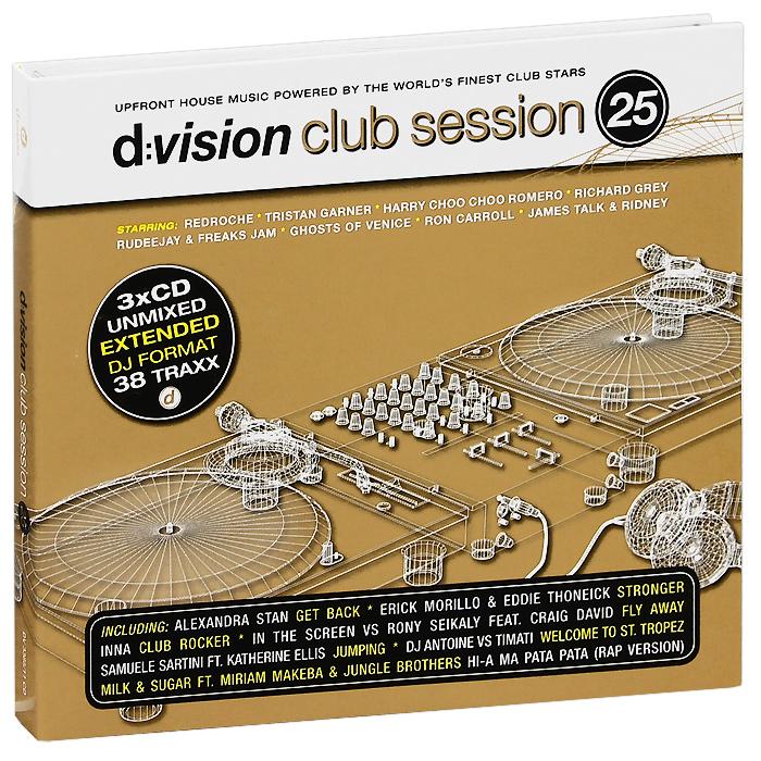 D:Vision Club Session Vol. 25 (3 CD) 2012 3 Audio CD