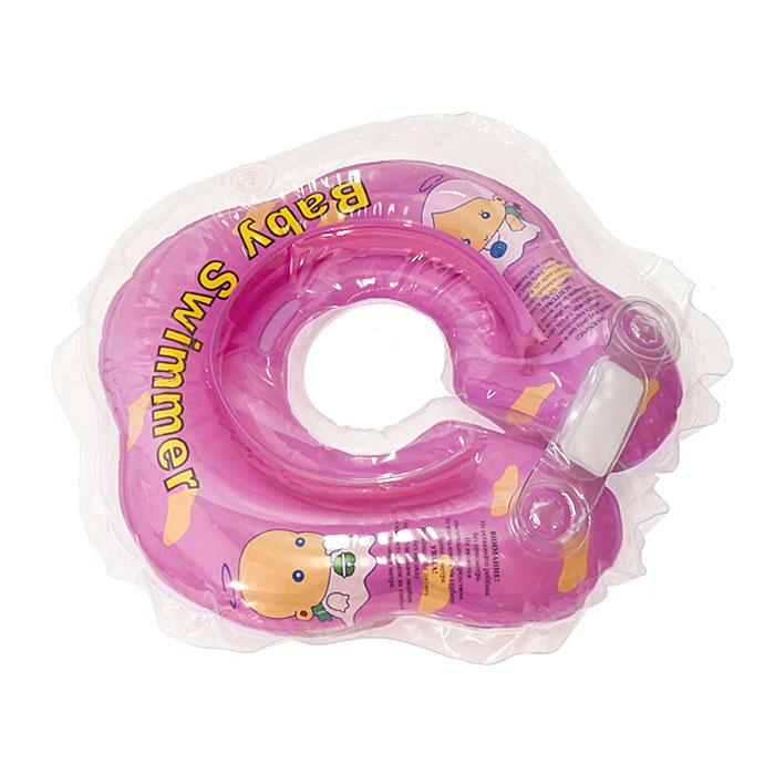 """Круг на шею """"Baby Swimmer"""", цвет: розовый, 3-12кг BS02P"""