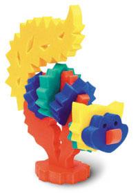 Кошечка. Мягкий конструктор45385Мозаики и конструкторы настолько универсальны и практичны, что с ними можно играть практически везде. Для производства игрушек используется современный, легкий, эластичный, прочный материал, который обеспечивает большую долговечность игрушек, и главное –является абсолютно безопасным для детей. К тому же, благодаря особой структуре материала и свойству прилипать к мокрой поверхности, мягкие конструкторы и мозаики являются идеальной игрушкой для ванны. Способствует развитию у ребенка мелкой моторики, образного и логического мышления, наблюдательности. Производственная фирма `Тедико` зарекомендовала себя на рынке отечественных товаров как производитель высококачественных конструкторов и мозаик серии `Флексика`. Богатый ассортимент включает в себя игрушки для малышей и детей старшего возраста.