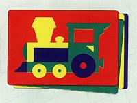 Паровозик. Мягкая мозаика45304Мозаики и конструкторы настолько универсальны и практичны, что с ними можно играть практически везде. Для производства игрушек используется современный, легкий, эластичный, прочный материал, который обеспечивает большую долговечность игрушек, и главное –является абсолютно безопасным для детей. К тому же, благодаря особой структуре материала и свойству прилипать к мокрой поверхности, мягкие конструкторы и мозаики являются идеальной игрушкой для ванны. Способствует развитию у ребенка мелкой моторики, образного и логического мышления, наблюдательности.