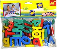 Алфавит+Цифры. Мягкая мозаика45342Мозаики и конструкторы настолько универсальны и практичны, что с ними можно играть практически везде. Для производства игрушек используется современный, легкий, эластичный, прочный материал, который обеспечивает большую долговечность игрушек, и главное является абсолютно безопасным для детей. К тому же, благодаря особой структуре материала и свойству прилипать к мокрой поверхности, мягкие конструкторы и мозаики являются идеальной игрушкой для ванны. Способствует развитию у ребенка мелкой моторики, образного и логического мышления, наблюдательности. Ваш ребенок быстро выучит буквы русского алфавита и цифры с помощью этого набора, благодаря тому, что с ним можно заниматься практически везде, даже в ванной!