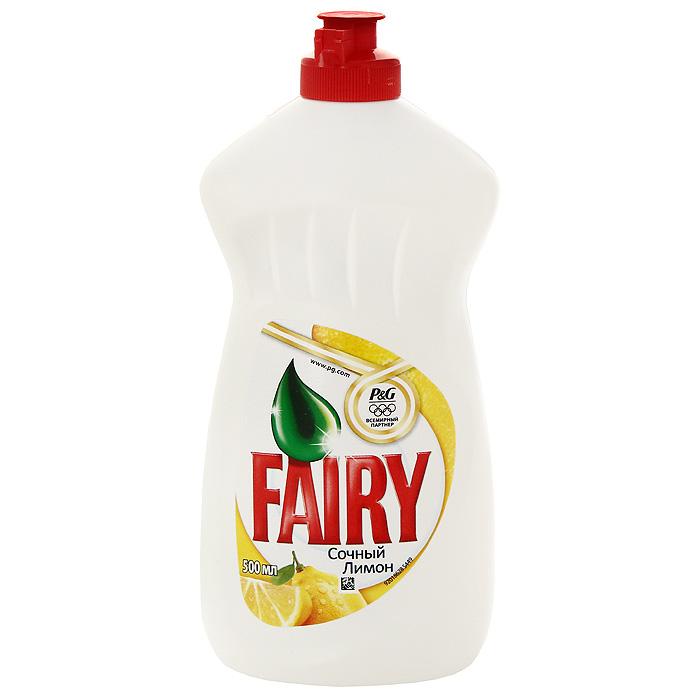 Средство для мытья посуды Fairy сочный лимон, 500 млFR-80246877Густой насыщенный бальзам Fairy эффективно растворяет жир даже в холодной воде. Густая пена позволяет вымыть большее количество посуды, что делает Fairy очень экономичным. Специальная формула делает Fairy мягким для рук.