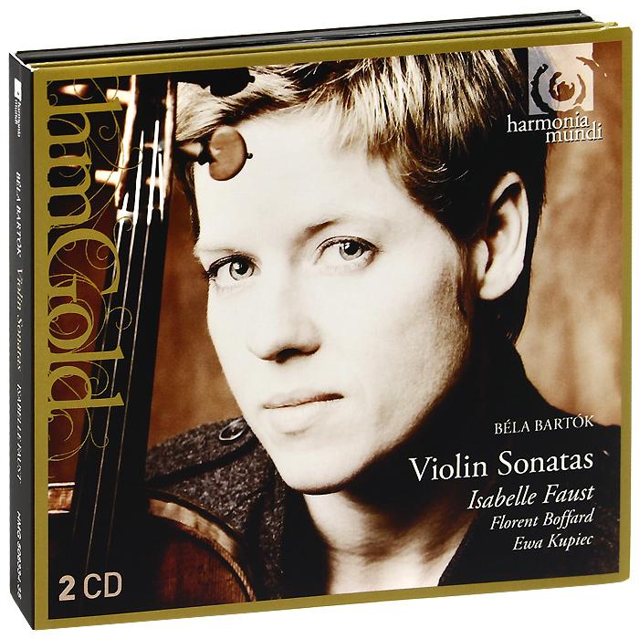 Isabelle Faust. Bartok. Violin Sonatas (2 CD)