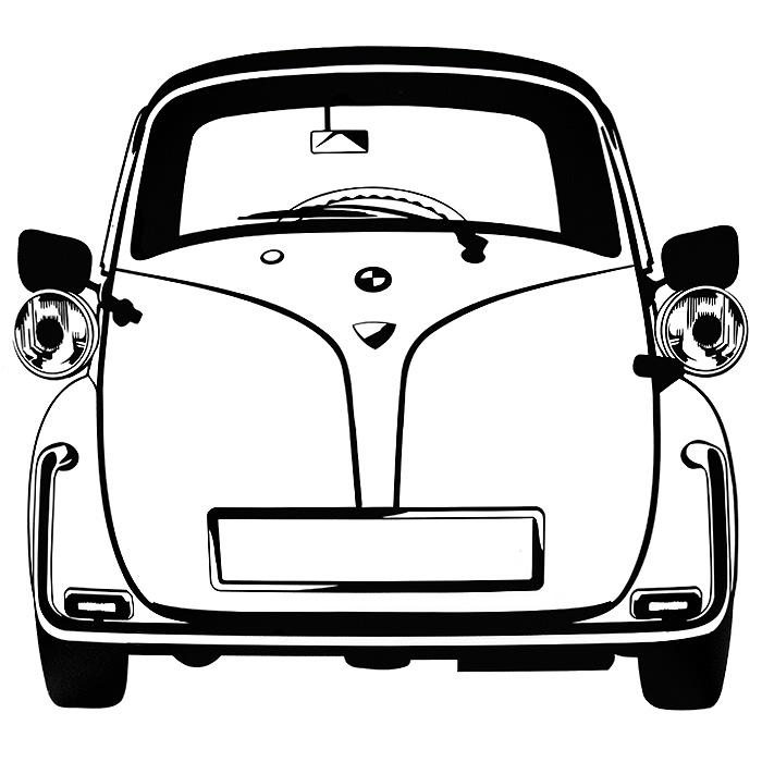 Стикер Paristic Изетта, 30 х 32 см43411Добавьте оригинальность вашему интерьеру с помощью необычного стикера Изетта. Изображение на стикере выполнено в виде силуэта старинного автомобиля Isetta - одного из самых успешных микроавтомобилей, производившихся в период после Второй мировой войны в годы. Необыкновенный всплеск эмоций в дизайнерском решении создаст утонченную и изысканную атмосферу не только спальни, гостиной или детской комнаты, но и даже офиса. Стикер выполнен из матового винила - тонкого эластичного материала, который хорошо прилегает к любым гладким и чистым поверхностям, легко моется и держится до семи лет, не оставляя следов. Сегодня виниловые наклейки пользуются большой популярностью среди декораторов по всему миру, а на российском рынке товаров для декорирования интерьеров - являются новинкой. Paristic - это стикеры высокого качества. Художественно выполненные стикеры, создающие эффект обмана зрения, дают необычную возможность использовать в своем интерьере элементы...