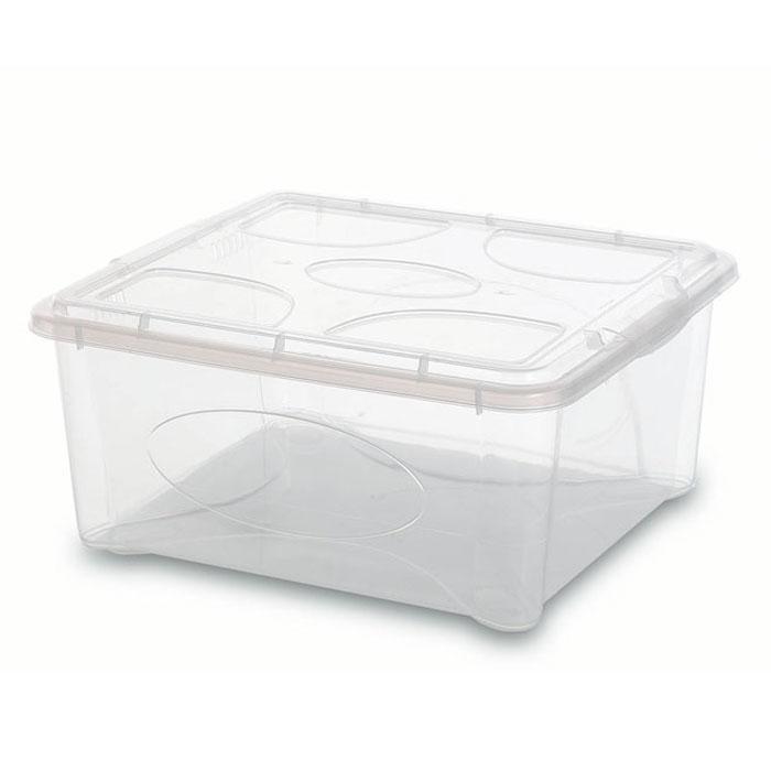 Контейнер Gensini с крышкой, универсальный, 18 л2206Универсальный контейнер Gensini прекрасно подойдет для хранения игрушек в детской комнате, белья перед стиркой, инструментов и многого другого. Он изготовлен из высококачественного прозрачного пластика. Благодаря прозрачности вы всегда сможете видеть содержимое контейнера и без труда отыщите нужную вам вещь. Контейнер закрывается крышкой. Удобный и легкий контейнер позволит вам хранить вещи в полном порядке, а благодаря современному дизайну он впишется в любой интерьер. Контейнер имеет компактные размеры, поэтому не занимает много места.