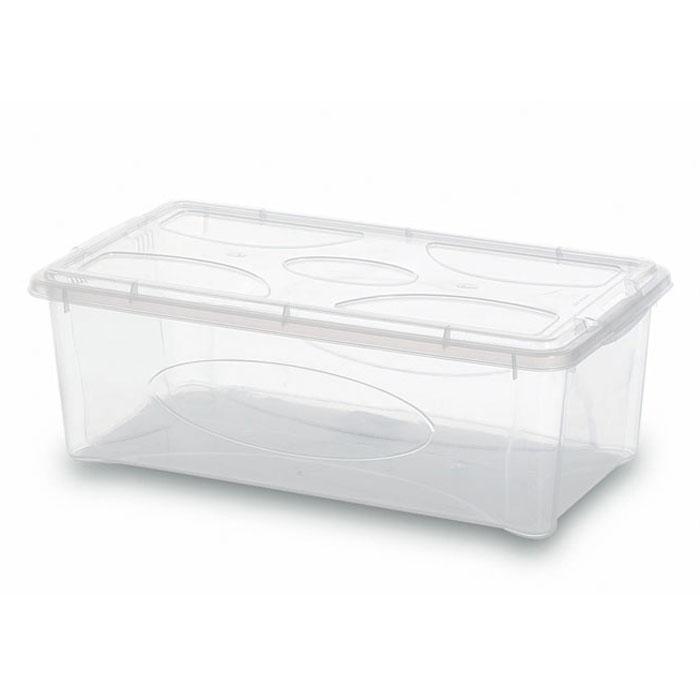 Контейнер Gensini с крышкой, универсальный, 5 л2204Универсальный контейнер Gensini прямоугольной формы прекрасно подойдет для хранения небольших игрушек, инструментов, швейных принадлежностей и многого другого. Он изготовлен из высококачественного прозрачного пластика. Благодаря прозрачности вы всегда сможете видеть содержимое контейнера и без труда отыщите нужную вам вещь. Контейнер закрывается крышкой. Удобный и легкий контейнер позволит вам хранить вещи в полном порядке, а благодаря современному дизайну он впишется в любой интерьер. Контейнер имеет компактные размеры, поэтому не занимает много места.