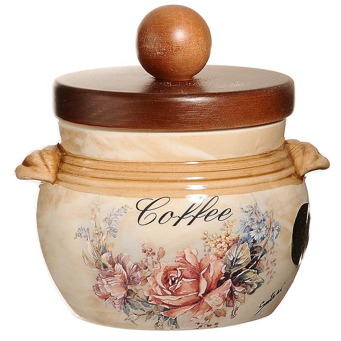 Банка для продуктов LCS Элианто Coffee 0,5 л LCS670РLС-EL-ALLCS670PLC-EL-ALБанка LCS Элианто с надписью Coffee, выполненная из высококачественной керамики, станет незаменимым помощником на кухне. В ней будет удобно хранить разнообразные сыпучие продукты, такие как кофе, крупы, макароны. Емкость легко и надежно закрывается деревянной крышкой с силиконовым уплотнителем. Оригинальный дизайн позволит сделать такую емкость отличным подарком на любой праздник. Характеристики: Материал: керамика, дерево, силикон. Диаметр по верхнему краю: 9 см. Высота (с крышкой): 12 см. Высота (без крышки): 8 см. Объем: 500 мл. Размер упаковки: 13,5 см х 14 см х 12 см. Изготовитель: Италия. Артикул: LCS670РLС-EL-AL. LCS - молодая, динамично развивающаяся итальянская компания из Флоренции, производящая разнообразную керамическую посуду и изделия для украшения интерьера. В своих дизайнах LCS использует как классические, так и современные тенденции. Высокий стандарт изделий обеспечивается за счет...
