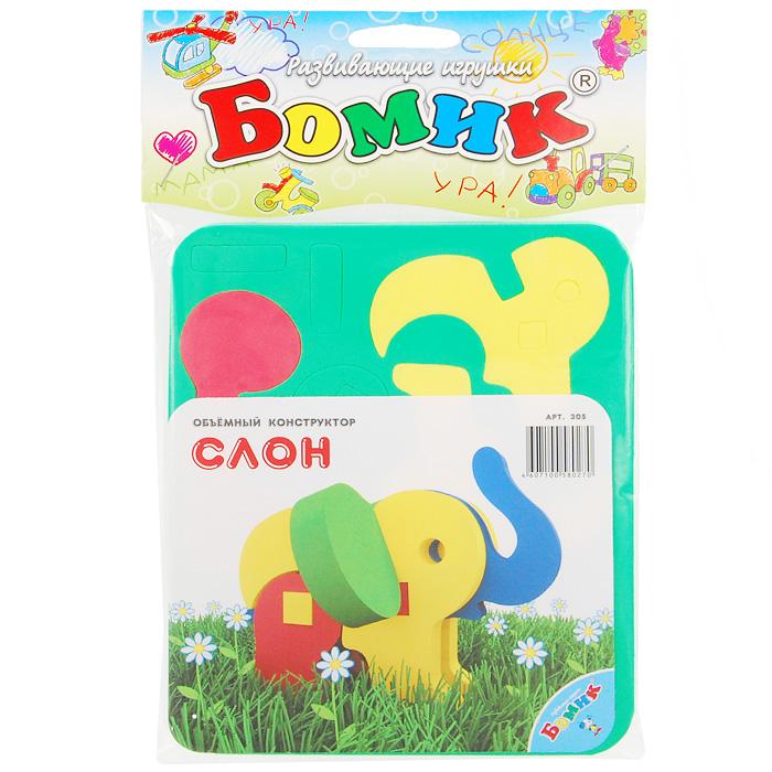 Бомик Мягкий конструктор Слон